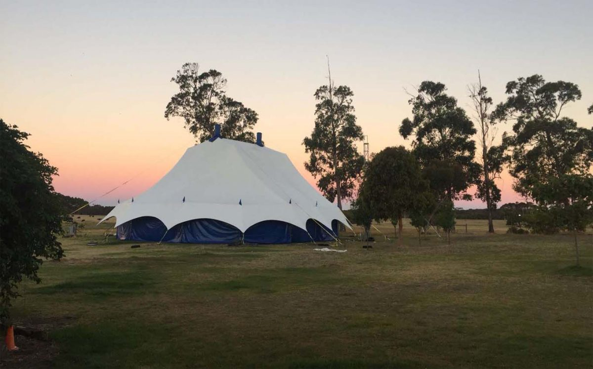 Big top, Lunar Circus,venue hire, tent hire