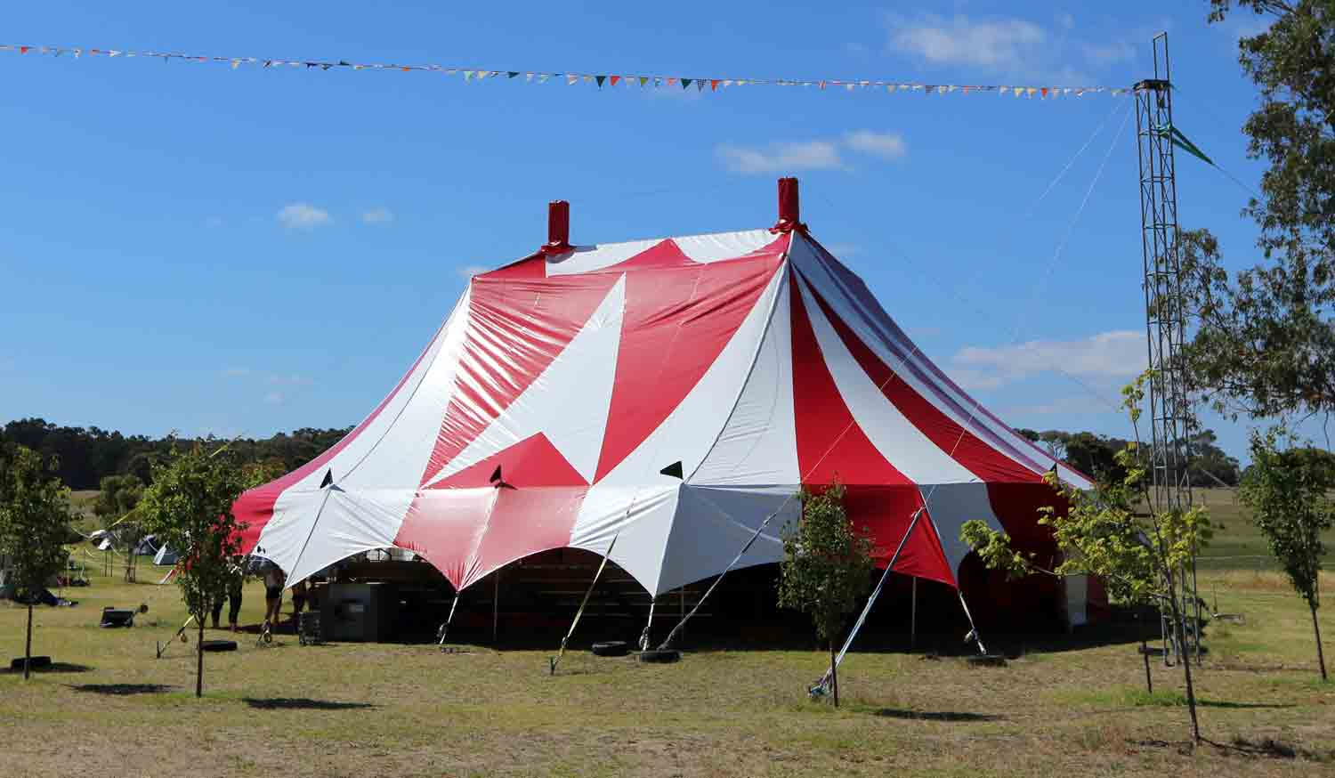 The Lollipop Big Top Lunar Circus Venue Hire