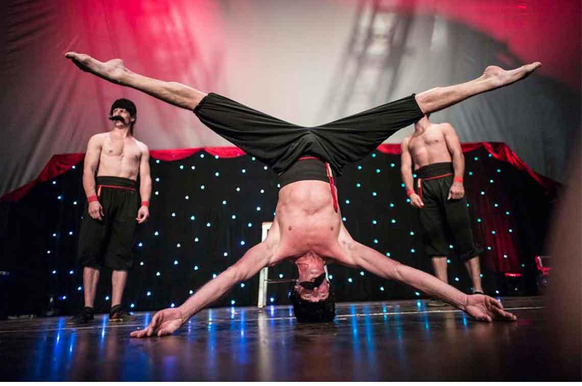Fatt Matt Lunar Circus Russians Act Karnidale The Western Australian Circus Festival
