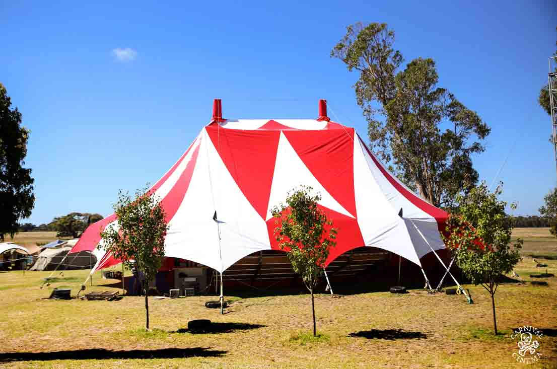 The Lollipo Big Top - Lunar Circus Venue Hire