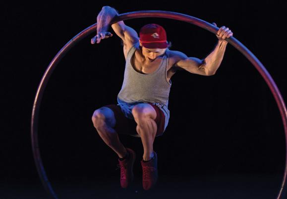 Will Anton at the Western Australian Circus Festival - Karnidale 2019