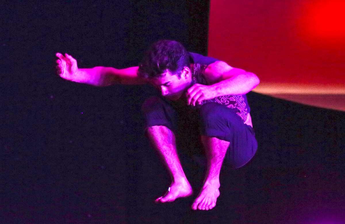 Dylan Ingwersen at Karnidale Circus Festival