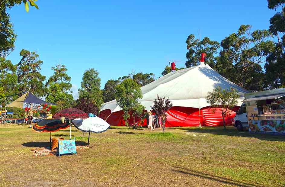 Lunar Sensation Venue for Hire at KarnidaleFestival