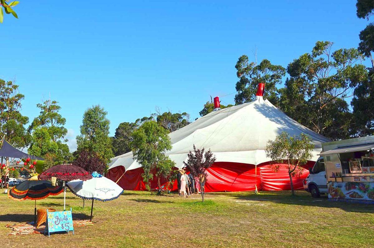 Lunar Sensation - A Lunar Circus Big Top Venue Hire