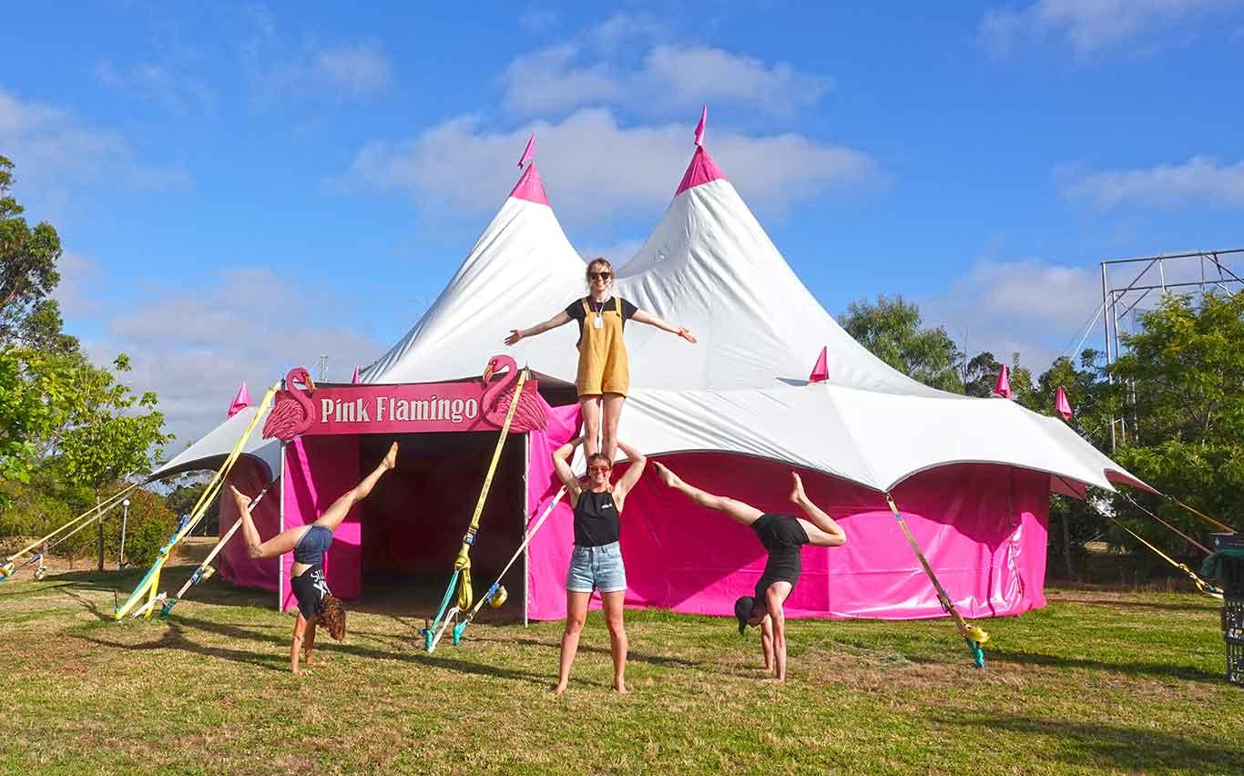Pink Flamingo - Lunar Circus Venue for Hire