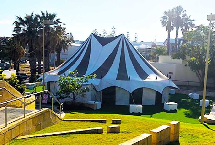 Lunar Circus Big Top and Marquee Hire Perth Western Australia
