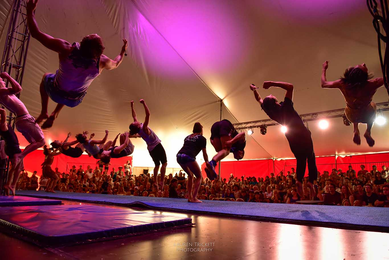 back sault competition at Karnidale Festival