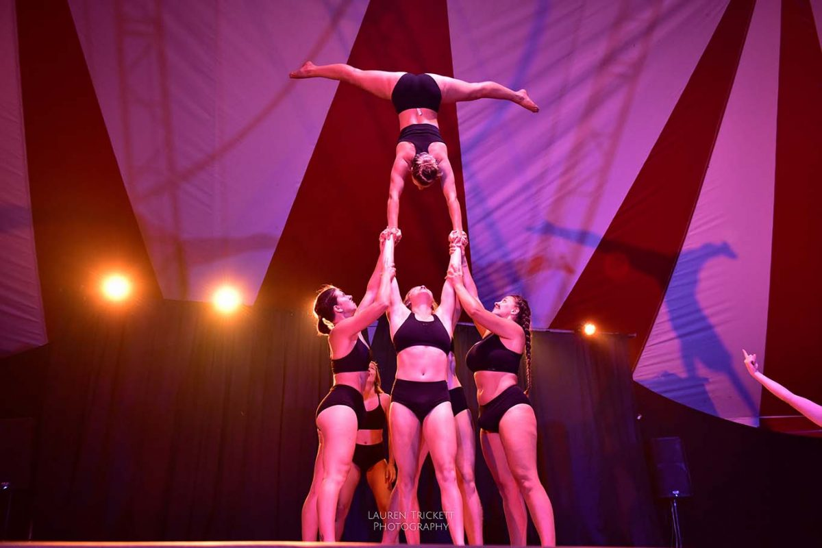 yuck circus at Karnidale festival - Lunar Circus, Margaret River, Australia